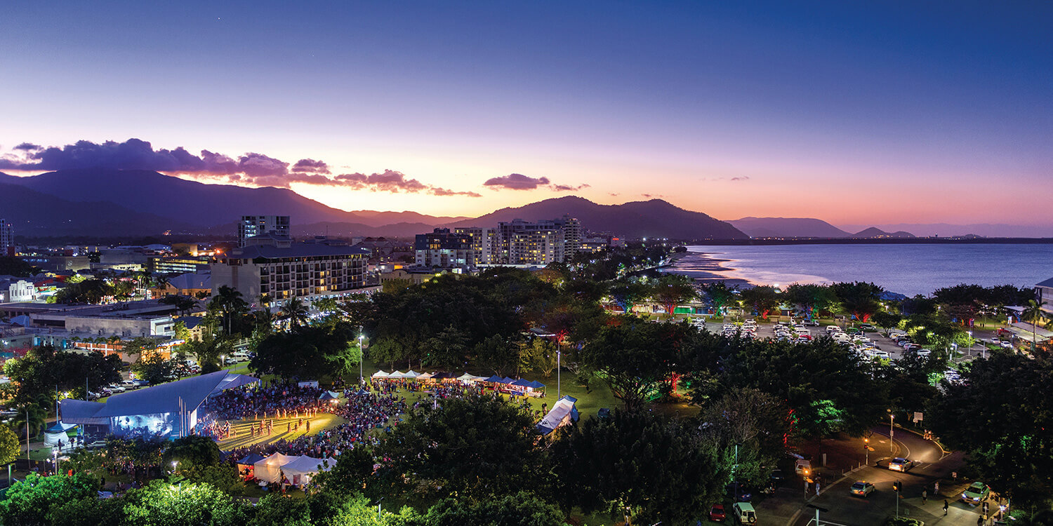 cairns-at-night-credit-Tourism-and-Events-queensland | Pacific Hotels Group